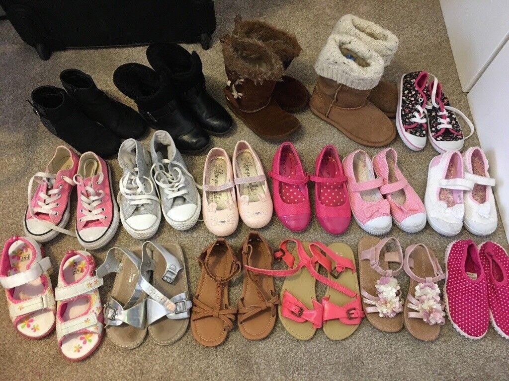 d95fa5cd3d8 1 images Girls size 11 shoe bundle