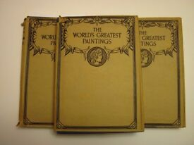 The World's Greatest Paintings Volumes 1, 2 & 3