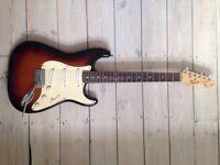 Squier by Fender Strat - 1994 - UNPLAYED + Wings Gig-bag!