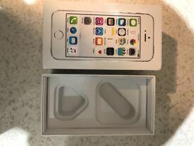 Sliver & white iPhone 5s