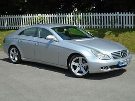 2007 (07) Mercedes-Benz CLS 3.0 CLS320d CDI 7G-Tronic  LONG MOT   F. HISTORY   DIESEL   AUTO