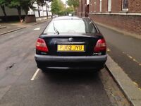 Toyota AVENSIS ,02 plate, petrol, 5 door ,with tax