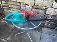 Electric bosh hedge trimmers