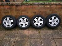 """15"""" VW Golf Alloys + Tyres"""