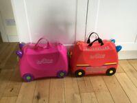 Children's trunks suitcases
