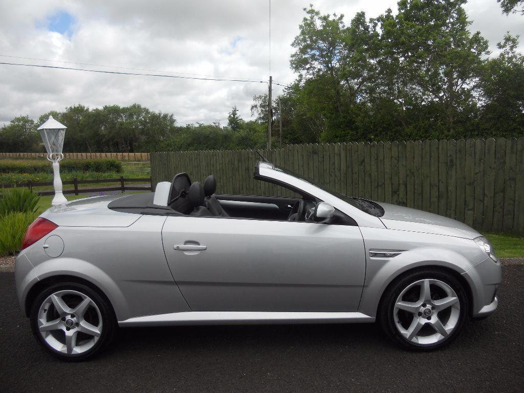 2007 vauxhall tigra convertible exclusiv 1 8 leather fsh long mot in ballymoney county. Black Bedroom Furniture Sets. Home Design Ideas