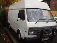 vw/lt35 high torq/ lwbse diesel 2.4lt1994 high tp panel van.price not include mot work