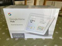Google Next Hub - Brand New, Unboxed