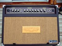 Carlsbro Sherwood 30R acoustic guitar amp with mic input. As new with cover.