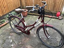 Beautiful real classic Dutch hybrid ladies bike