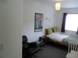 GORGEOUS studio with en-suite/own entrance/suit professional @MON to FRI only@ close to bus route/M5