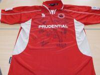 Signed Stirling Albion Promotion Shirt