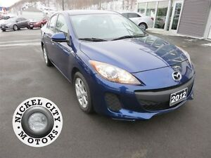 2012 Mazda MAZDA3 GX *LOW KM! *AUTOMATIC! *ALLOYS!