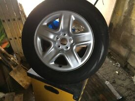 Toyota spare wheel