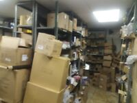 Racking shelving retail shop storage unit workshop 14 bays clearance sale can be delivered