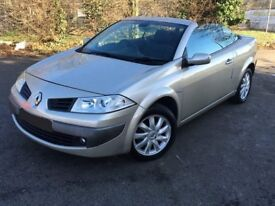 Renault megane convertible. Perfect for summer