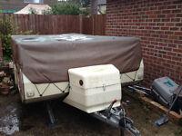 Pennine Pullman folding Camper / trailer tent