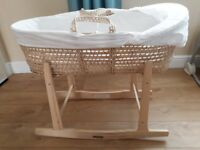 Moses basket for sale