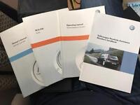 Owners handbook VW mk6 Golf