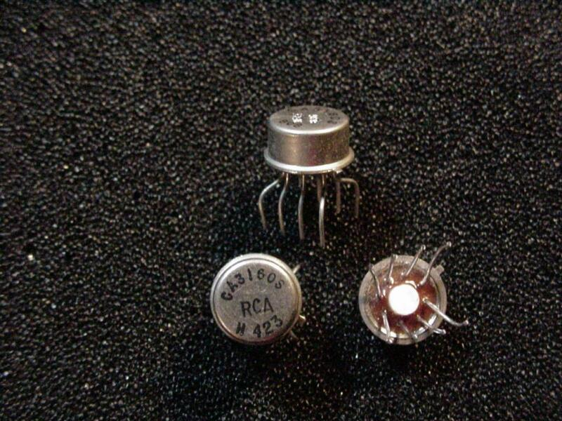CA3160S IC, Operational Amplifier RCA