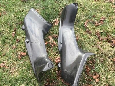 00 01 929 954 RAM AIR INTAKE COVERS LEFT RIGHT FAIRING CLEAN OEM UPPER 06 DUCT
