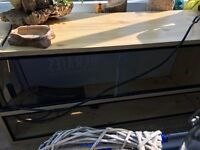 Lizard vivarium been used for a gecko, full glass front with sliding doors. In good condition