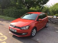 2014 REG 63 PLATE VOLKSWAGEN POLO MATCH ORANGE CAT D EXCELLENT CONDITION FULL VW SERVICE HISTORY