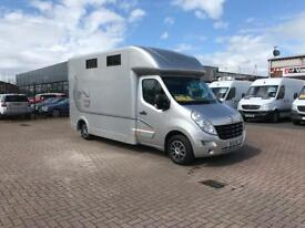Newly converted horse box on 2011 Renault master £24995 j&ft&v mallusk