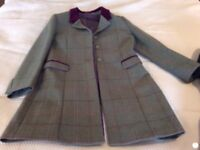 Alan paine coat / jacket size 10/12 worn once cost £200 new