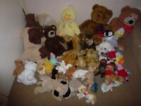 35 Teddy Bear Soft Toys Job Lot