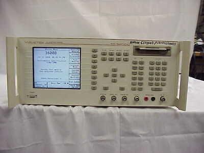 Wavetek 3600d Cellular Test System Ampscdma 800mhz