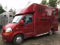 Renault Master 2007 3.5T Horsebox Evolution Conversion