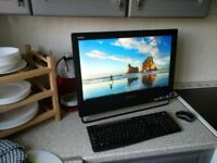 Lenovo Touchscreen all in one pc. I5 3470s 2.9ghz 128gb ssd
