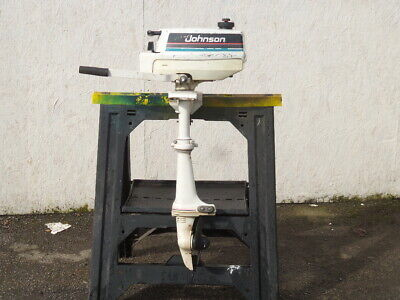 Classic Johnson Evinrude Colt 1.2 HP Outboard Engine Motor
