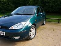 FORD FOCUS LX 2002 93100 WARRANTED MILES EXCELLENT CONDITION