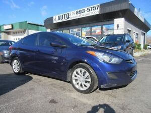 2013 Hyundai Elantra Sedan, Manual Transmission, 100% approved