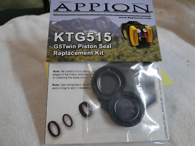 Appion Parts Compressor Piston Seal Kit Both Sides