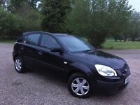 £850 NEW CLUTCH WITH RECEIPT ! KIA RIO 1.5 DIESEL GS CRDI ! 1 FORMER KEEPER FROM NEW ! 5 DOORS! £850