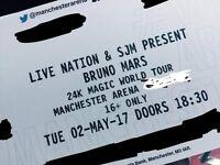 bruno mars 24k world tour manchester seats in hand tickets