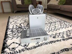 Cambridge Audio 540r Receiver and Kef 5.1 Speakers