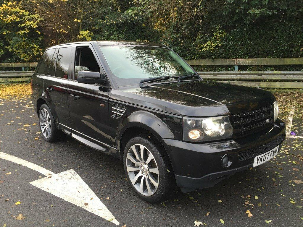 2007 range rover sport hse tdv6 2 7 106k sunroof nav fridge heated leather in high wycombe. Black Bedroom Furniture Sets. Home Design Ideas