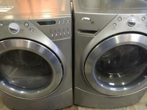 3 - Laveuse Sécheuse Frontales WHIRLPOOL DUET  Frontload  Washer Dryer