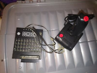 Comcon ZX Spectrum Joystick Interface plus Quickshot Joystick. (Untested).