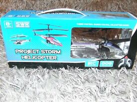 PROJECT STORM HELICOPTER **BRAND NEW NEVER BEEN OPENED**WORTH VIEWING