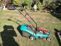 Bosch Rotary lawnmower.