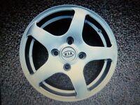 "Alloy wheels 15"" set of four"