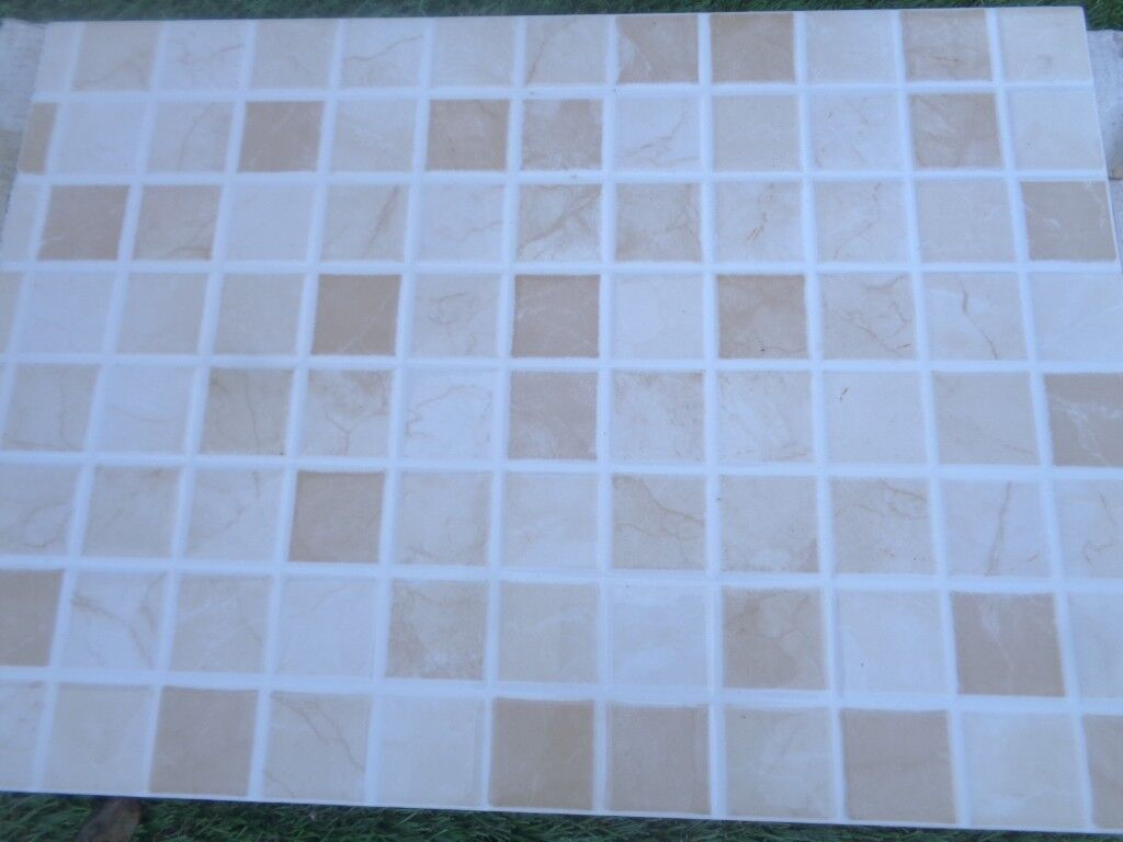 Elgin cappuccino beige mosaic wall gloss tiles | in Christchurch ...