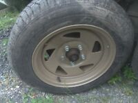 Cyclone wheels with excellent tyres to fit a VW T25