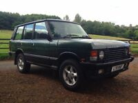 Range rover Classic. Good condition, 12 months MOT. Personalised registration plate.