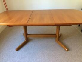 LARGE GPLAN 1970sDINING ROOM TABLE